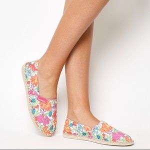 Havaianas x Liberty Flat slide slip on floral shoe